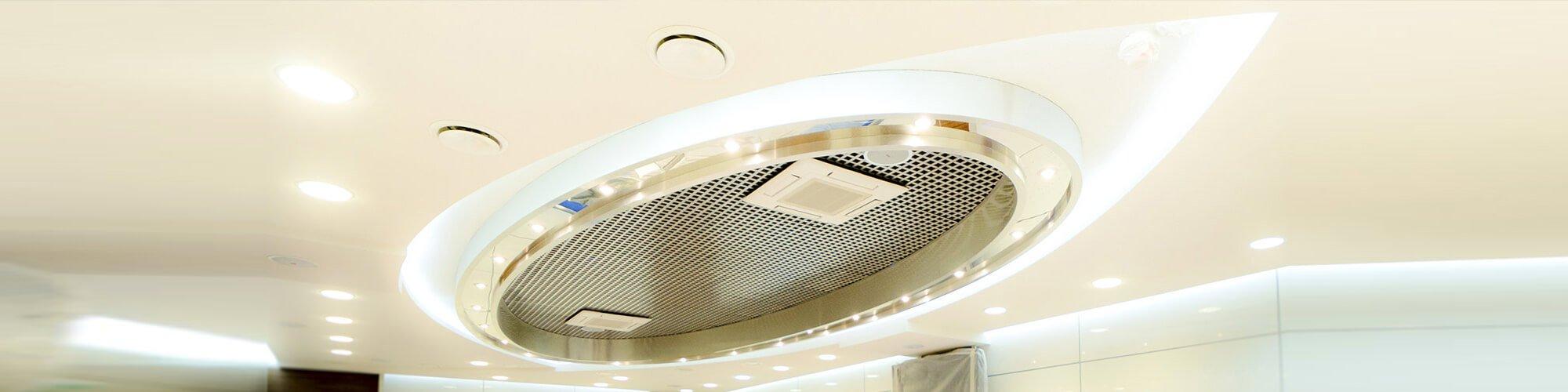 Проектирование, изготовление и монтаж интерьерного светильника по эскизам заказчика.